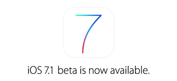 iOS 7.1 beta  が配布開始